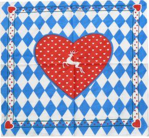 Bandana mit Bayrischem Herzen – Bild 1