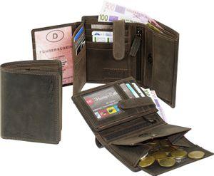 Geldbörse in Vintage still Handarbeit