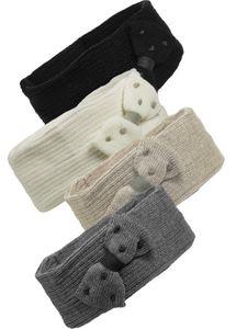 Stirnband  für Damen in 4 Farben mit Schleife