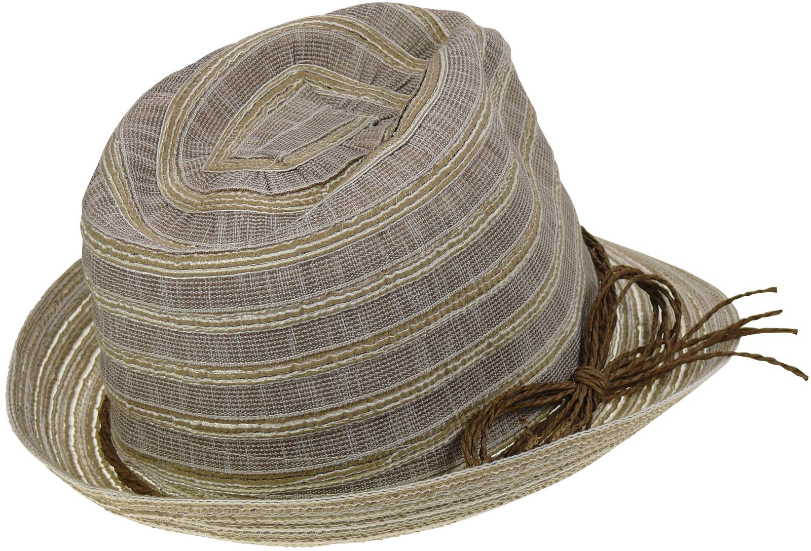 Sehr leichter Damenhut in 2 Farben Hut Hüte Sommerhut