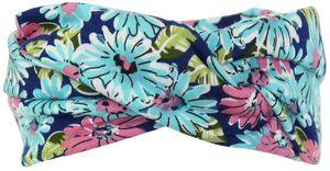 Mädchen Haarband oder Stirnband in 4 Farben mit Blumen – Bild 4