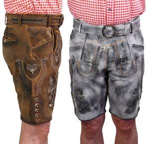 Kurze Trachten Lederhose urig speckig Vintage