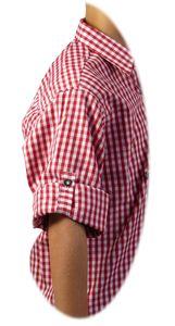 Kariertes Kinder  Trachtenhemd aus 100% Baumwolle – Bild 4