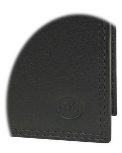 Hochformat Geldbörse in weichem Nappa Leder doppel Naht  mit RFID Schutz – Bild 4