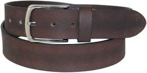 Ledergürtel aus Büffelleder mit eleganter Schließe – Bild 3