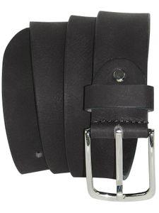 Ledergürtel aus Büffelleder mit eleganter Schließe – Bild 8