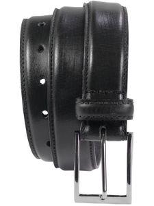 bombierter Ledergürtel aus Büffell-Nappa-Leder mit hochwertiger Schnalle – Bild 8