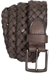 Geflochtener Ledergürtel in 2 Farben – Bild 2