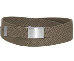 Elastik Gürtel für Damen und Herren  30 mm mit Klappschnalle – Bild 14