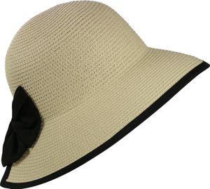Exclusiver Damenhut mit Stoffband Nackenfrei – Bild 14