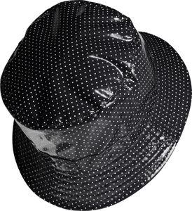Regenhut mit Punkten Innentasche – Bild 4