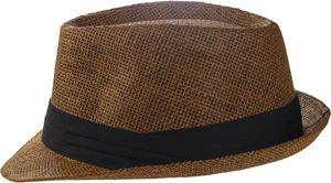 Trilby Hut in 3 Farben mit schwarzem Stoffband – Bild 3