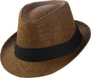 Trilby Hut in 3 Farben mit schwarzem Stoffband – Bild 2