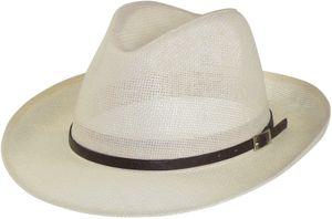 Sehr leichter klassischer Hut in hellbeige