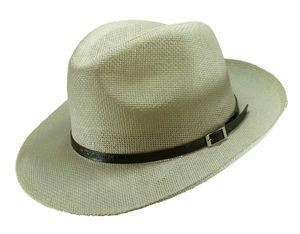 Sehr leichter klassischer Hut in hellbeige – Bild 2