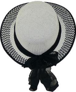 Eleganter Damenhut  aus Stroh  – Bild 7