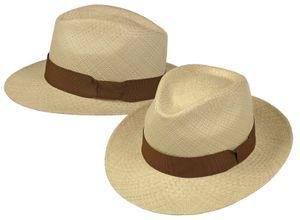 Panamahut in klassischer Form Hut Hüte  – Bild 1