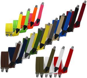 Hosenträger mit 3 extra starken Clips 140 cm Überlänge – Bild 1