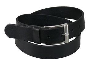 Vollrindleder Gürtel 35mm schwarz ! – Bild 1