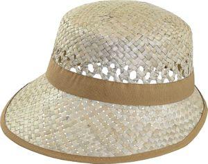 Einfacher ovaler Damenhut aus Stroh – Bild 2