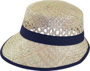 Einfacher ovaler Damenhut aus Stroh – Bild 6