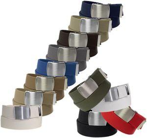 Stoff Gürtel 40mm Breite starkes Band! 12 Farben