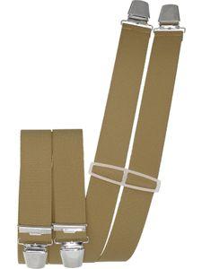 Hosenträger mit 4 Clips  uni extra lang 130 cm – Bild 22