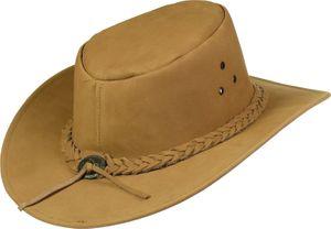 Echter Lederhut aus feinem Nubuckleder  sand! Hut Hüte – Bild 3