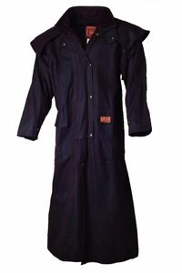 Riding Coat Oilskin Coat – Bild 1