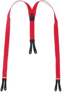 Hosenträger mit Knopfloch aus echten Lederpatten 11 Farben zur Wahl – Bild 11