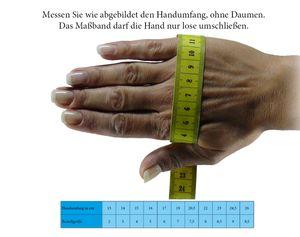 Handschuh in echtem Lammfell für Damen + Herren – Bild 10