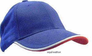 Double Sandwich Cap  Basecap Kappe 12 Farben – Bild 9