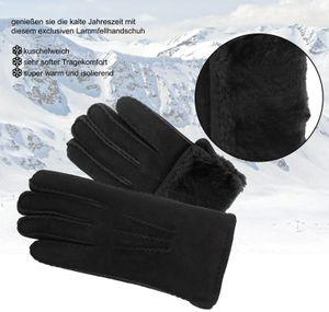 Handschuh aus echtem Lammfell handgenäht – Bild 6
