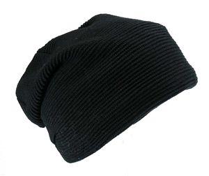 Langgestrickte Mütze mit Polartec Futter