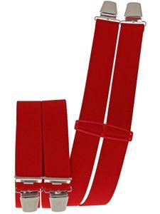 Hosenträger mit 4 extra starken  Clips uni Farben – Bild 9