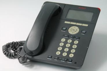 Avaya One-X Deskphone IP Systemtelefon 6920  9620D01A-1009 mit Fuß – Bild 1