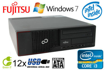 Fujitsu Esprimo E710 Intel Core i3-2130 2x3,4GHz 4GB RAM 250GB HDD DVD-ROM Win7 – Bild 1