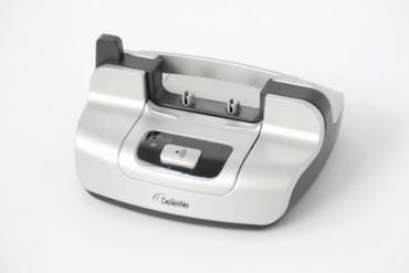 DeTeWe Mobilteil Basis Ladeschale schnurloses DECT Telefon BeeTel 610 silber – Bild 2