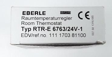 Raum- Temperaturregler EBERLE RTR-E 6763 Raumtemperaturregler 24V – Bild 2