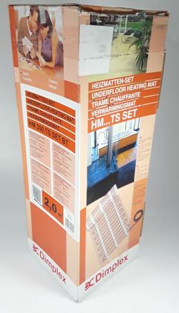 Dimplex Elektr. Fußbodenheizung Dünnbettheizung Set Unterputz Temperaturregler – Bild 1