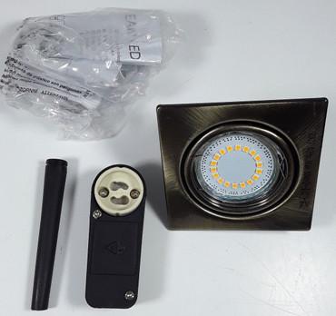 HV - Einbauleuchte, 1 LED/GU10/230V/4,5W (9019527208) – Bild 1