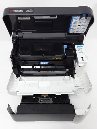 Kyocera FS-2100DN 40 ppm 256MB 126208 S. LAN Duplex Laserdrucker 20% Resttoner – Bild 2