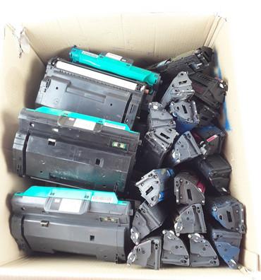 6x Q3964A + 19x Toner für  Color Laserjet 2820 2550LN 2550TN 2550 2550L 2840