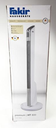 FAKIR HT 800 Premium Turm-Heizlüfter Weiß hochglanz – Bild 1