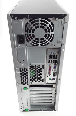 HP dc7800 CMT Core 2 Quad Q9300 4GB  250GB DVD Tower – Bild 2