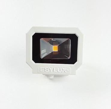 Esylux LED-Strahler 10W LED Montagelicht LED Anbaulicht Außenstrahler EL10810008 – Bild 1