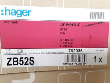 Hager Zähleranlage Zählerschränke 4 Zählerplätze ZB52S – Bild 2