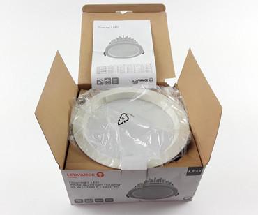 OSRAM LEDVANCE LED Downlight 25 Watt Einbauleuchte Lampe Strahler Spot Decke SMD – Bild 3