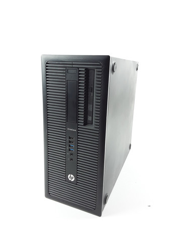 HP Elitedesk 800 G1 Tower Intel Core i5-4590 4x3,3GHz 8GB RAM 500GB HDD DVD – Bild 5