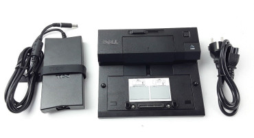 Dell Dockingstation K07A002 E-Port für Latitude + Netzteil DA130PE1-00 130W NEU – Bild 1
